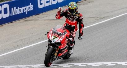 Superbike, la Ducati conferma Giugliano e Davies