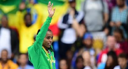 """Rio 2016, il super record della Ayana: """"Il mio doping è Gesù"""""""