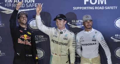 """F1 a Singapore, Rosberg: """"Uno dei migliori giri della carriera"""""""