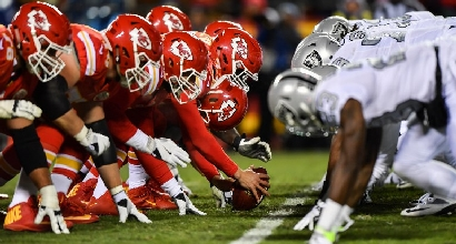 Chiefs-Raiders (Afp)