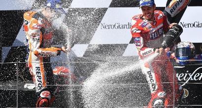 """MotoGP: Dovizioso """"Marquez mi ha fatto arrabbiare! Sapevo che ci provava..."""""""