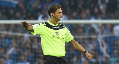 Serie A, gli arbitri: Inter-Fiorentina a Tagliavento