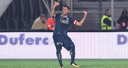 Serie B, l'Entella ci crede, ma l'Empoli è superiore: 2-3
