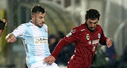 Serie B, blitz dello Spezia: Maggiore stende l'Entella