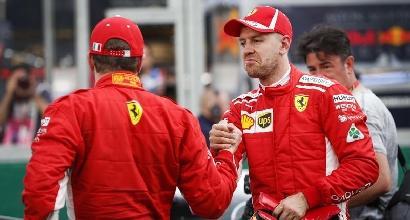 """F1, Vettel: """"Fiduciosi per la gara, siamo vicini"""""""
