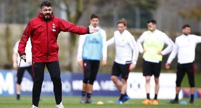"""Verso Torino-Milan, Gattuso: """"Occhio, sono una squadra rognosa"""""""