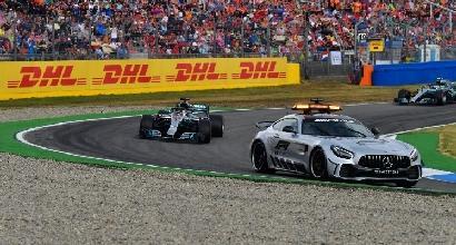F1, la Mercedes temeva che Hamilton venisse penalizzato