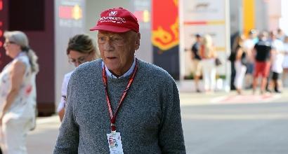 """I medici: """"Ottimismo per Lauda, siamo molto soddisfatti"""""""