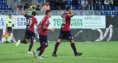 Serie A: Cagliari bloccato, il Sassuolo pareggia al 99'