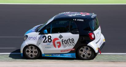 Vallelunga, Ghirelli in pole position sulla pista di casa