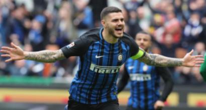 Inter, Icardi raggiunge Vieri: scambio di complimenti sui social