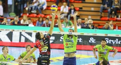 Volley: tutto facile per Perugia, Modena, Civitanova e Trento