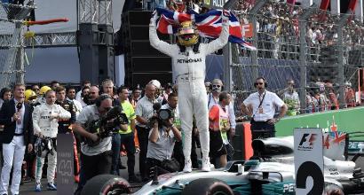 Formula 1, Hamilton prepara la festa in Messico: è campione se...