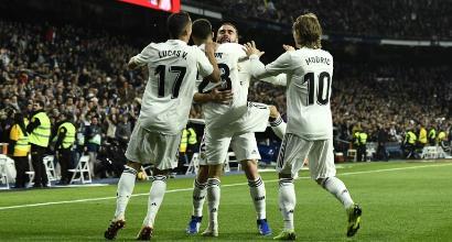Il Real riparte, Valencia piegato 2-0