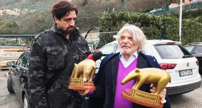 """Sampdoria, Tapiro d'oro a Ferrero: """"Hanno voluto fare un po' di clamore, è Natale..."""""""