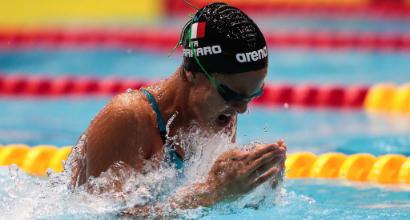 Nuoto, Mondiali in vasca corta: Carraro bronzo nei 50 rana
