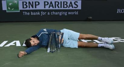 Tennis, Indian Wells: cade Federer, primo urlo per Dominic Thiem. Favola Andreescu nella finale femminile