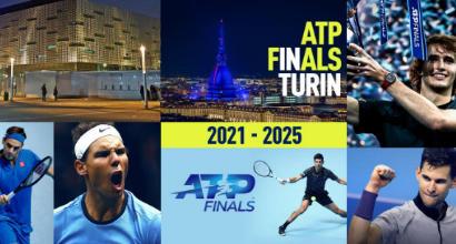 Atp Finals, il meglio del tennis a Torino dal 2021 al 2025