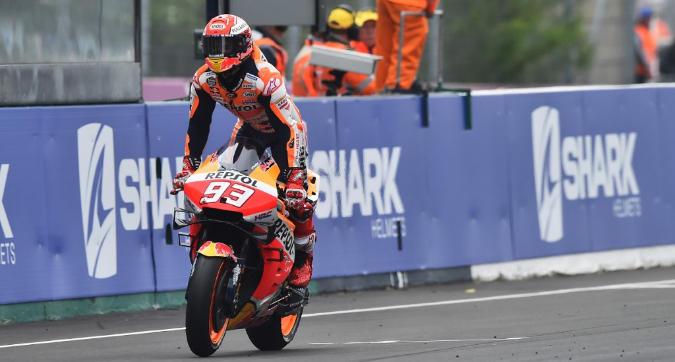 MotoGP, Marquez vince a Le Mans