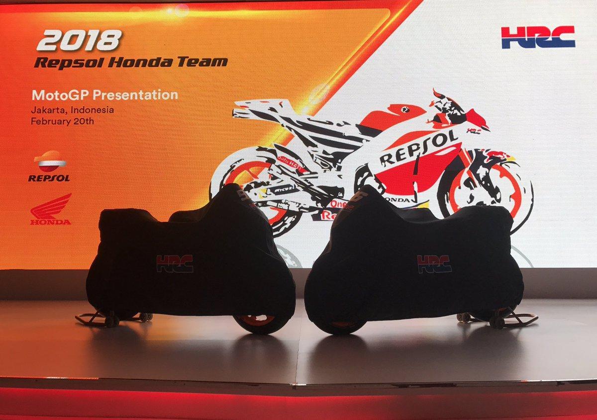 MotoGP, presentata la Honda di Marquez e Pedrosa