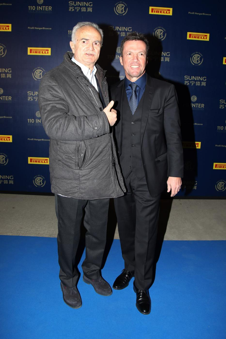 Sandro Mazzola e Lothar Matthaeus
