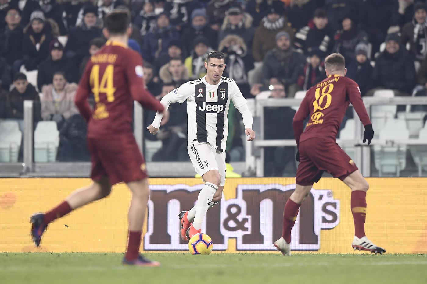 La Juve batte anche la Roma ed è campione d'inverno