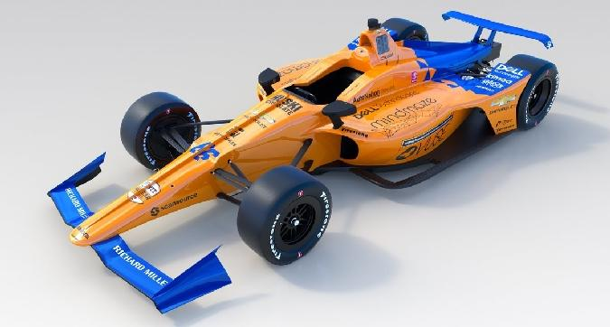 Indy 500, ecco la McLaren di Alonso