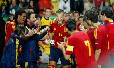 La Spagna campione, Afp