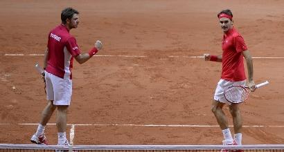 Federer-Wawrinka, AFP