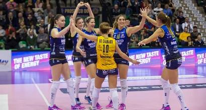 Volley, playoff A1 femminile: Conegliano centra l'impresa