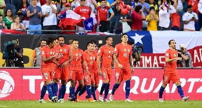 Coppa America: il Cile vola in finale dopo una partita infinita