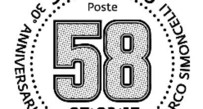 Motogp, un francobollo per ricordare Simoncelli