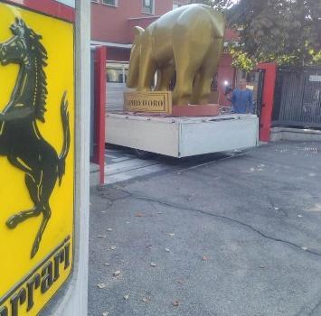 Un maxi Tapiro per la Ferrari