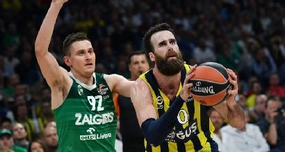 Basket, Eurolega: la finale sarà Fenerbahce-Real Madrid