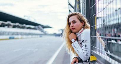 F3: Sophia Floersch è già in piedi e torna in Germania