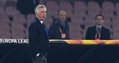 """Napoli, Ancelotti soddisfatto: """"Obiettivo centrato, che qualità Ounas"""""""