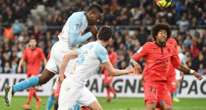 Ligue 1: Balotelli gol dell'ex, il Marsiglia stende il Nizza