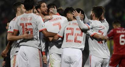 Euro 2020: doppio Morata a Malta