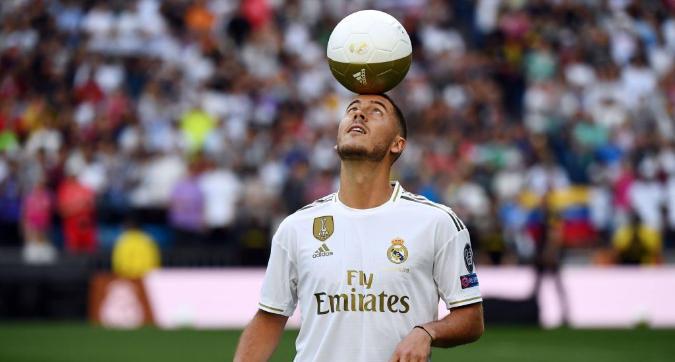 Il Real presenta Hazard, tifosi in delirio: