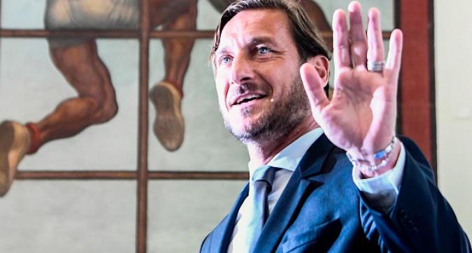 """Totti: """"Potrei andare in un club europeo. Roma? Non sto seguendo nulla"""""""