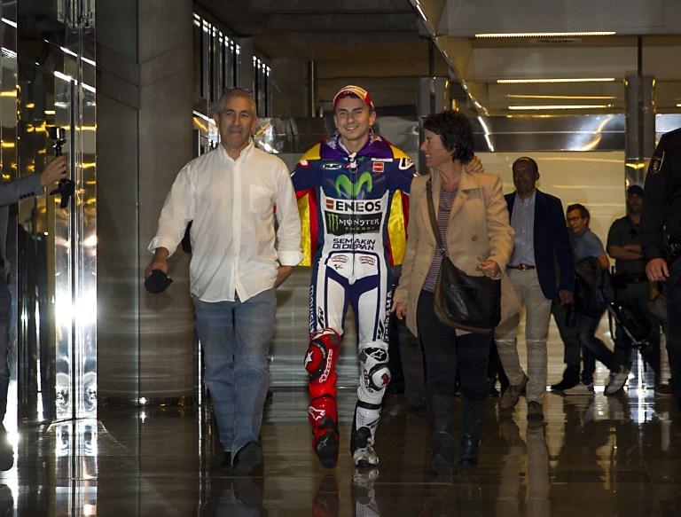MotoGP, grande festa per Lorenzo a Maiorca