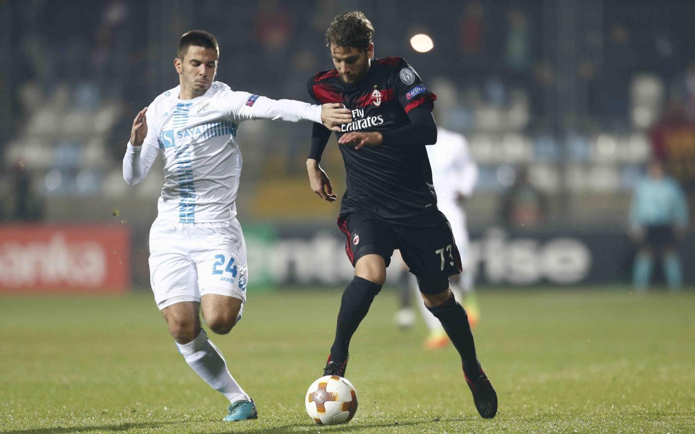 Rijeka-Milan, le foto del match