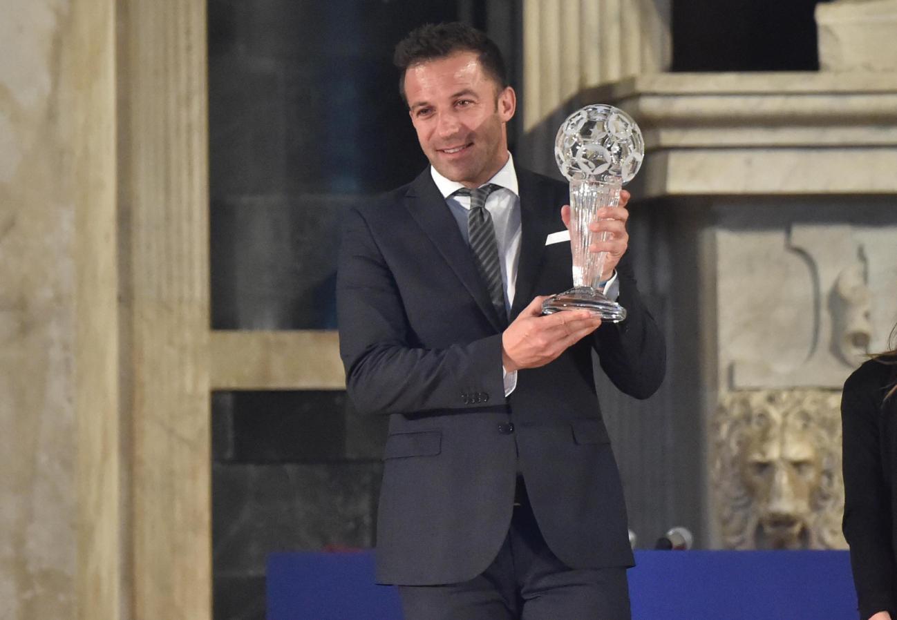Figc: Del Piero nella Hall of Fame