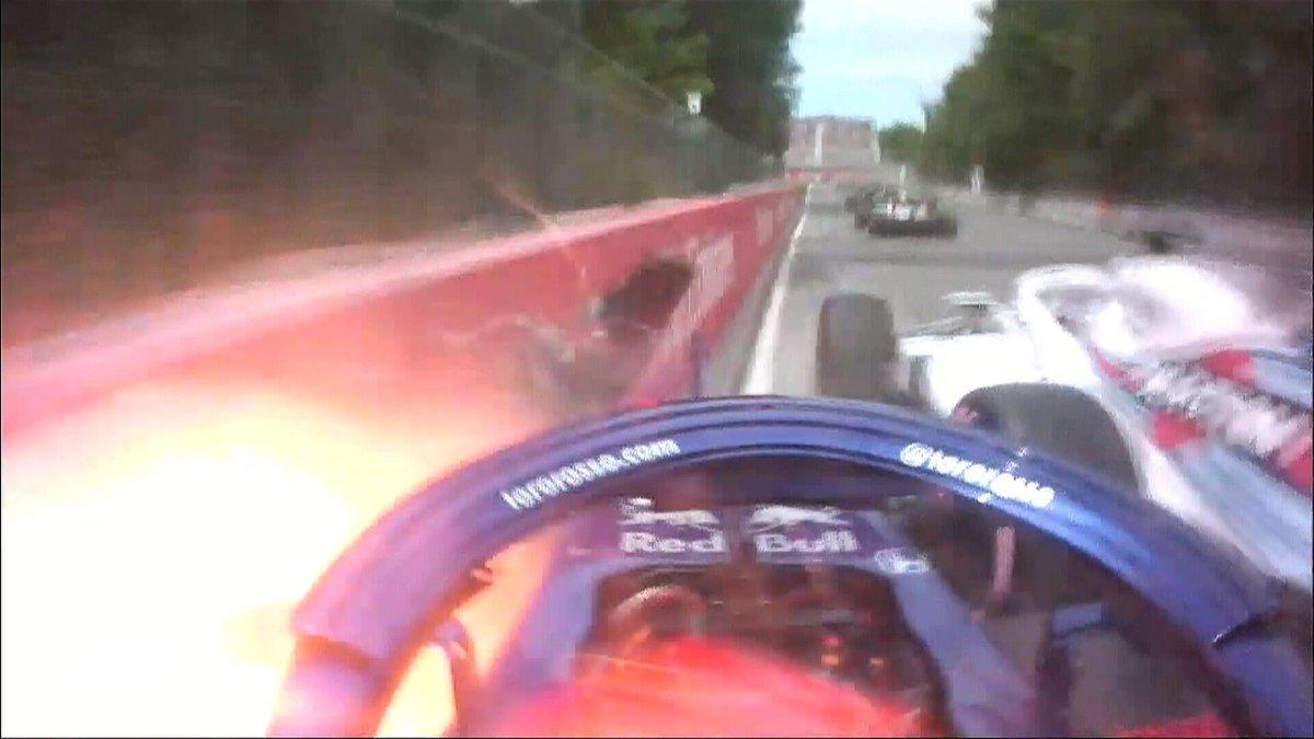 F1, pauroso incidente tra Hartley e Stroll in Canada
