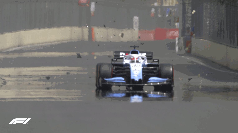 F1, un tombino cancella le Libere 1 a Baku