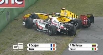 F1, la Lotus annuncia Maldonado