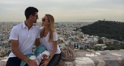 Djokovic e Ristic, Twitter