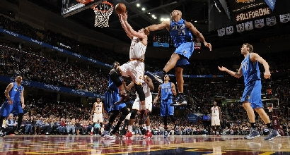 Kevin Love, foto Afp