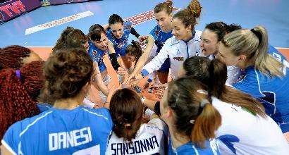 Volley donne, Preolimpico: sofferenza Italia, ma è in semifinale