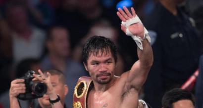 Pacquiao torna sul ring il 23 aprile